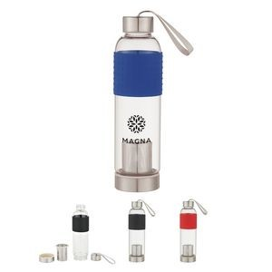 Sturdy Water Bottle with Attachable Infuser